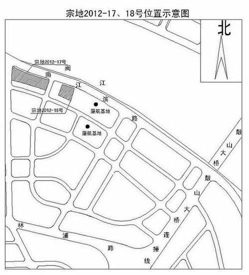 2012福州第五次土地出让 5幅地块18日拍卖
