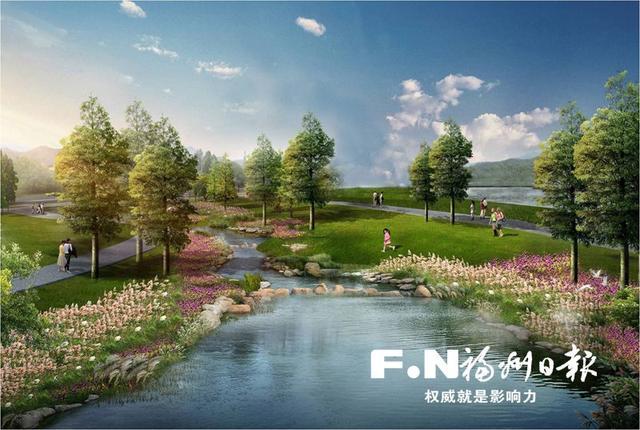 """福州年内建成海绵公园""""姐妹园"""""""