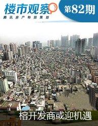 楼市观察第82期:榕开发商或迎发展新机遇