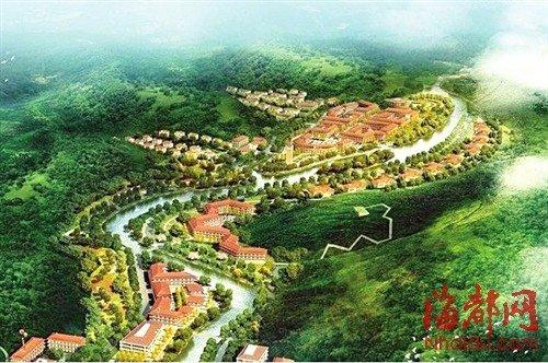 正在规划中的福州某旅游地产项目(效果图)图片