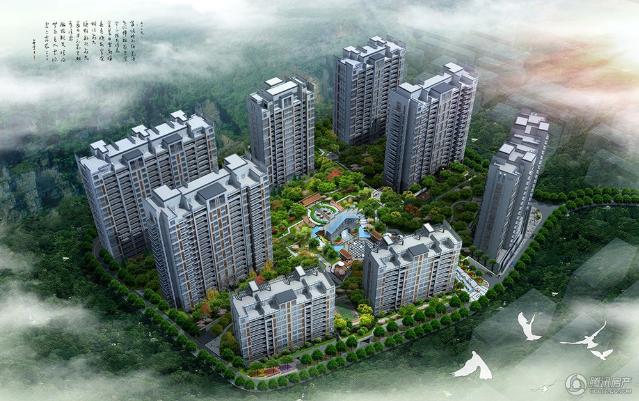梅峰礼居项目景观建设中 2月至6月即可入住