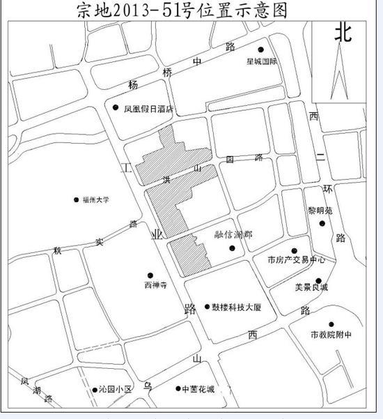 华润29.14亿元摘得宗地2013-51号福州老酒厂地块