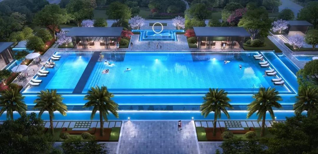 这个开发商,光看它造的社区泳池,有人就已经想买了
