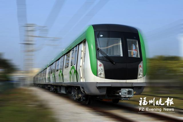 首列福建造全自动无人驾驶地铁下线 有望在榕开行