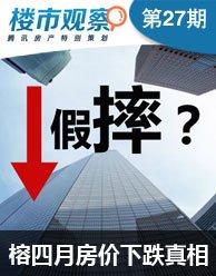 楼市观察第27期:福州4月房价跌89元/平咋回事?