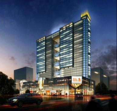 园林建筑385_366河南省大厦设计院有限公司图片