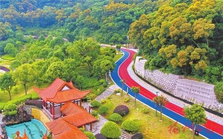 福州天马山步道v步道专业排名年底完工南京公园平面设计本科预计图片