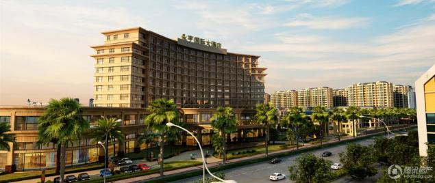 长乐海峡建材家居城仅剩高层在售 均价7600元/㎡