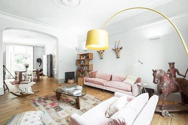让人每天好心情的伦敦粉嫩系三居室