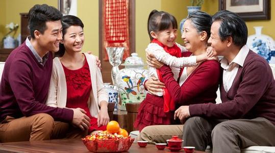 过年回家看看 带父母住进舒适养老房