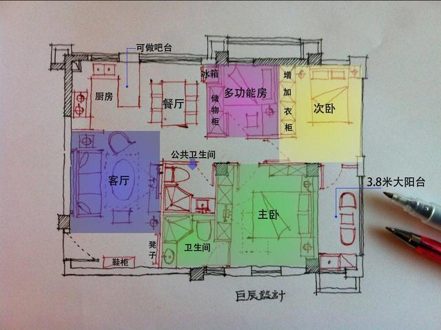 房屋正方形设计图图片