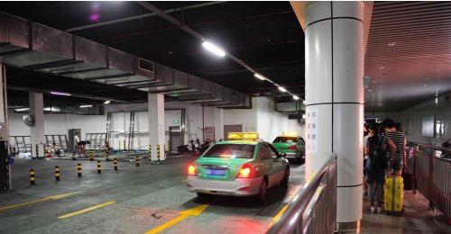 福州火车站北广场地下打车点装空调 将告别闷热图片