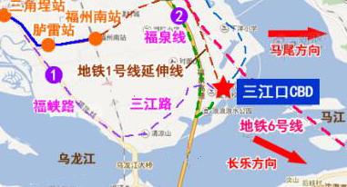 榕1号线二期全开工 三江口交通全面开展