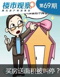 楼市观察第69期:福州买房送面积被叫停?
