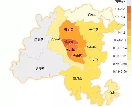 福建省闽清地图