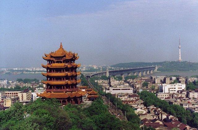 武汉地标建筑 黄鹤楼