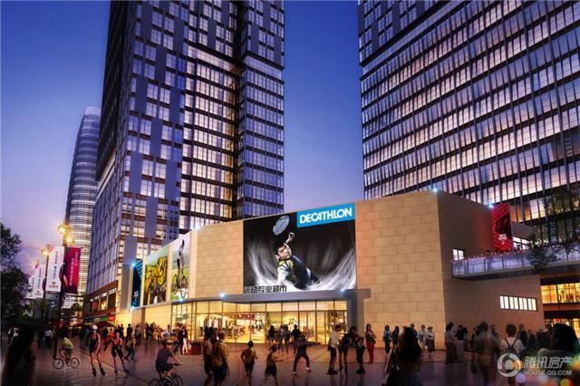 东二环泰禾广场顶级SOHO办公预约 商铺同步销售