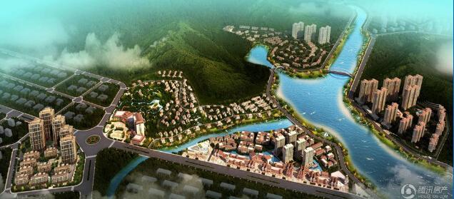 凤翔湖滨世纪在售商住公寓 面积36-92㎡