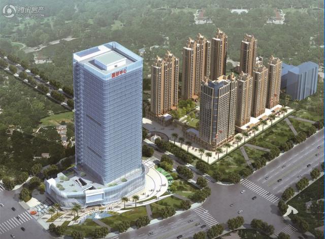 福晟国际中心87-210平甲级写字楼 首付20万