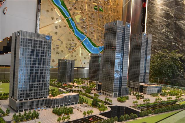 富力中心看房日记:走进北江滨CBD 看海西新商务名片