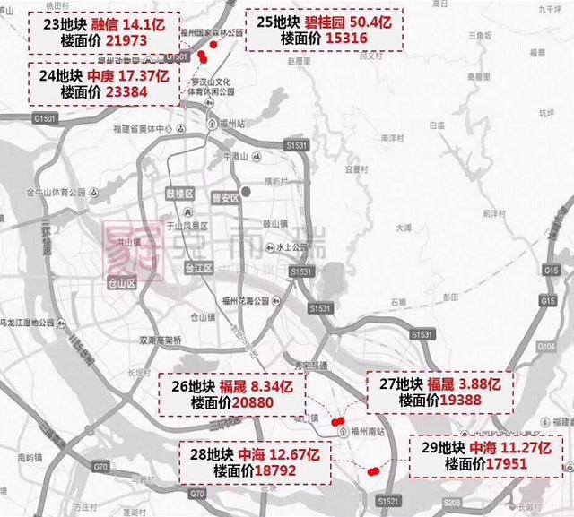 土地市场热度难减  福州房价是否还将迎新?