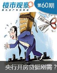 楼市观察第60期:央行开房贷药方挺刚需?