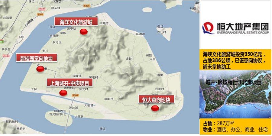马尾琅岐地处福州东向方位,因其闽江入海口位置而拥有良好的海域