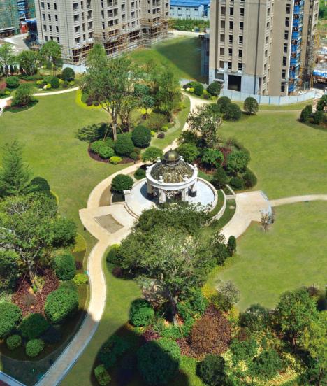 中联东郡:东二环又一花园住宅实景呈现 腾讯小编带您抢先欣赏