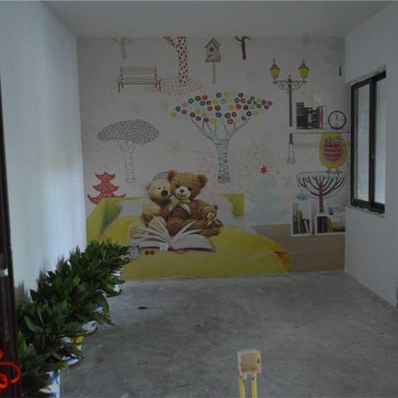 彩绘儿童房