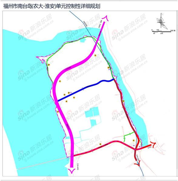 磅 南台岛片区规划出炉 地铁5号线贯穿