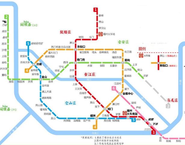 地铁6号线取消长乐机场站 被地铁偏爱的还是福州南