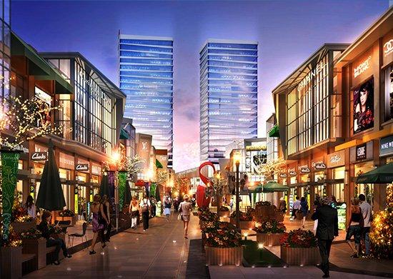 福清万达广场城市商业街旺铺七大价值