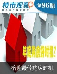 楼市观察第86期:榕楼市迎来最佳购房时机?