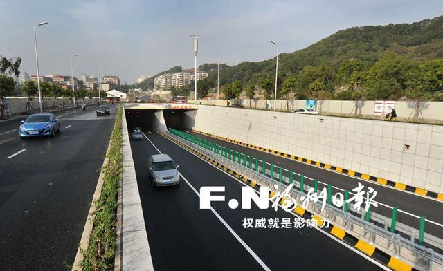 湖东路隧道正式通车 省图至东二环驱车仅需2分钟