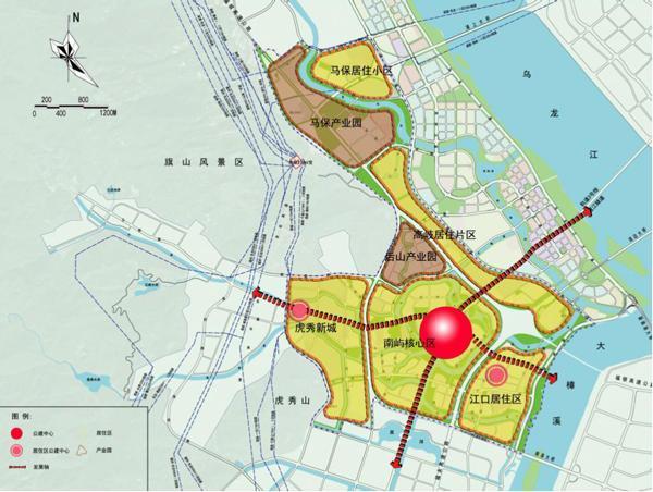 福州南屿最新规划出炉!未来将成宜居新城