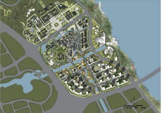 合浦县城南片区规划图