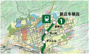 地铁规划图告诉你 政府更偏爱福州哪个区 组图