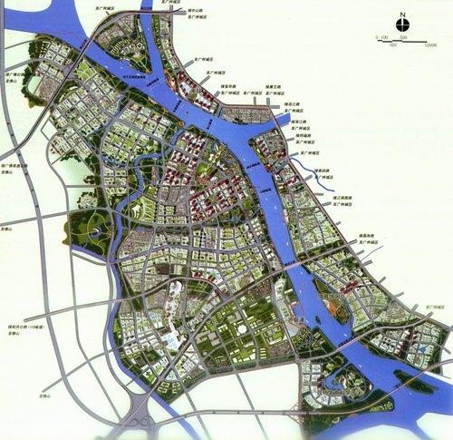 滚动新闻 正文  总平面图  整体城市设计  整体城市设计十大策略:  本