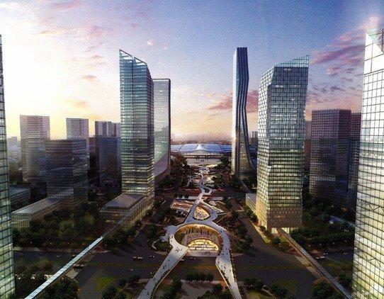广州南站核心中轴第一盘下半年将面市