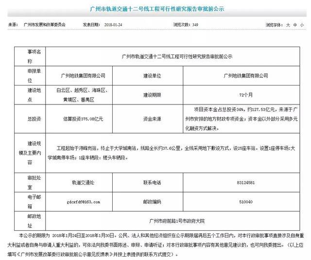 广州又一地铁新线拿到开工纸 12号线获批开工在即