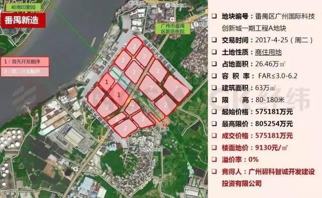 碧桂园57.5亿拿思科智慧城一期用地 或与思科联合开发