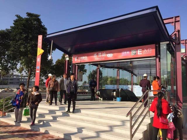 (地铁六号线二期香雪站E口)-20分钟 420万 6号线二期开通或改写城