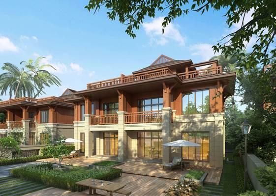 半山别墅别墅实现广州东洋房别墅亮相你的价格梦使用权温泉绿化带图片