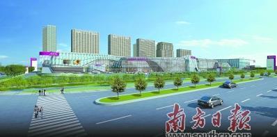 华南最大永旺梦乐城动工 24个现代服务业项目落户东部