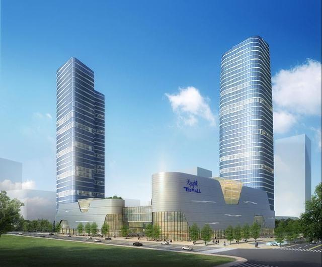 所担纲设计,汇聚升级版天河城,特色商业体,甲级写字楼和斯睿loft公寓图片