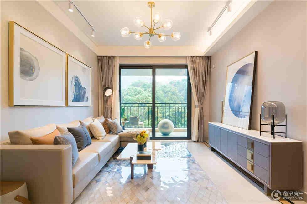 115平灰白极简风设计 营造温馨宁静的家