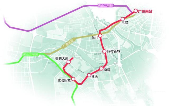 佛山顺德北滘马村地图