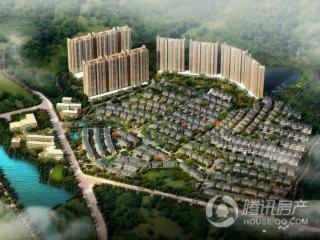 峰湖御园在施工中 预计年底推首批别墅产品