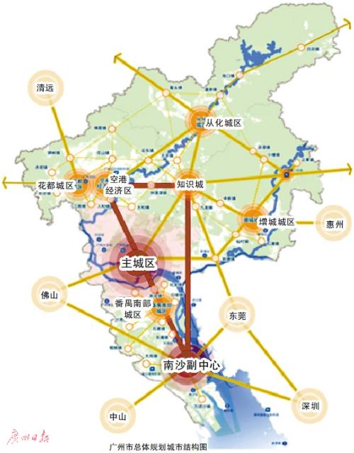 广州城市总体规划南沙成重点 首付50万还有上车机会
