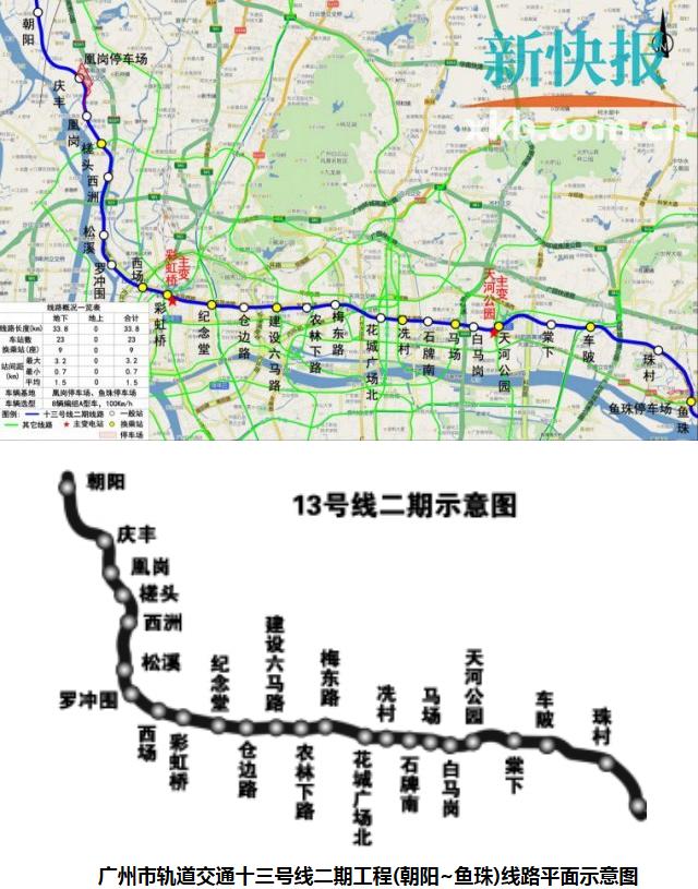 广州地铁10月最新进度 增城首条地铁开通在即